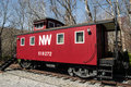 The Caboose - Overnight Stay Royalty Free Stock Photo