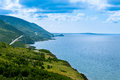Cabot Trail highway Cape Breton NP NS Canada