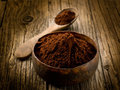 Cacao powder Stock Images