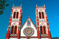 Cacred heart church in Pondicherry Stock Photography