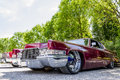 Caddilac lowrider Royalty Free Stock Photo