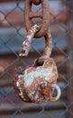 Cadeado velho Foto de Stock