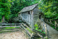 Cades cove grist mill the historical cable in tennessee great smoky mountains national park Royalty Free Stock Images