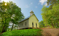 Cades Cove Methodist Church Great Smoky Mountain National Park Royalty Free Stock Photo