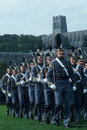 Cadets marching at Westpoint Military Academy Stock Photography