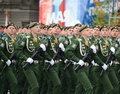 Echoes group in the ceremonial March dedicated to the production of 305 Military space Academy imeni A. F. Mozhaisky