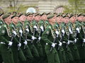 Cadets Military-space Academy named after A. F. Mozhaisky during the parade dedicated to the Victory Day.