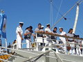 Cadets on ship