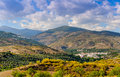 Cadiar and berchules villages alpujarras granada province andalusia spain Royalty Free Stock Photo
