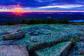 Cadillac Mountain Sunset Royalty Free Stock Photo