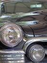 Cadillac a vintage classic cadilac in black color amazonia brazil Stock Photo