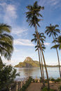 Cadlao Island during tide Royalty Free Stock Photo