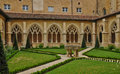Cadouin abbey in perigord france the Royalty Free Stock Photos
