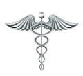 Caduceus Stock Photo