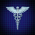 Caduceus Health Care Icon Stock Images