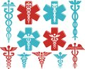 Caduceus medical symbol Royalty Free Stock Photo