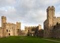 Caernarfon Castle Interior Walls