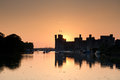 Caernarfon castle in north wales uk Stock Photography