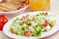 Caesar salad Stock Image