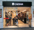 Caesar shop in hong kong Stock Image
