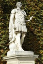 Caesar statue of the ancient roman emperor julius augustus Royalty Free Stock Image
