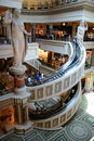 Caesars palace image of the shopping center and mall at las vegas Royalty Free Stock Images