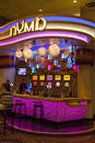 Caesars palace numb bar in las vegas nv on june cool down stations and margareta bars help tourists cope with record heat Royalty Free Stock Photos
