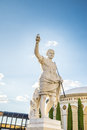 Caesars palace statue of caesar in las vegas at ceasars hotel and casino Stock Photography