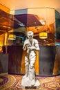 Caesars palace statue of joe louis the immortal boxer Stock Photography