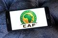 Caf logo Royalty Free Stock Photo