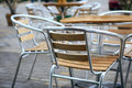 Cafe chairs Royalty Free Stock Photo