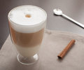 Cafe Latte Royalty Free Stock Photo