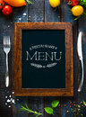Cafe menu restaurant brochure. Food design template Royalty Free Stock Photo