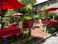 Cafe in St Augustine Florida USA