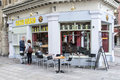 Caffe gusto a coffee house located in bristol city centre united kingdom Royalty Free Stock Photography