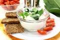 Cagliata dell'aglio selvaggio Immagine Stock Libera da Diritti