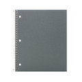 Cahier d'isolement sur le blanc Photos stock