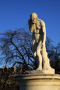 Cain statue in Tuileries garden in Paris, France Royalty Free Stock Photo