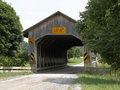 Caine Road Covered Bridge Stock Photos
