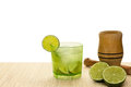 Caipirinha: brazilian cocktail Royalty Free Stock Photo