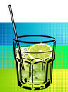 Caipirinha Cocktail Royalty Free Stock Photo