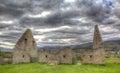 Hrad kasárne škótsko spojené kráľovstvo v obrázok s vysokým dynamickým rozsahom