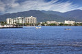 Cairns qld the beautiful tourist city of in queensland australia Stock Photo