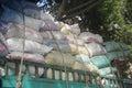 Cairo bulk truck Royalty Free Stock Photo