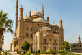 Cairo citadel the saladin of a fortified medieval castle with a mosque and museum serving as one of egypt's top tourist Royalty Free Stock Photo