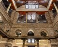 Cairo, Egypt - September 16, 2018: Inside Abu Serga church. Saints Sergius and Bacchus Church, also known as Abu Serga, in Coptic Royalty Free Stock Photo