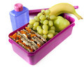 Caixa de almoço Nutritious Fotos de Stock Royalty Free
