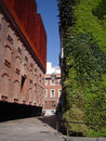 Caixa Forum Museum In Madrid With Vertical Garden Royalty Free Stock Photo