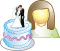 Cake designer Icon Royalty Free Stock Photo