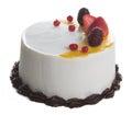 Cake. ice cream cake on background Royalty Free Stock Photo